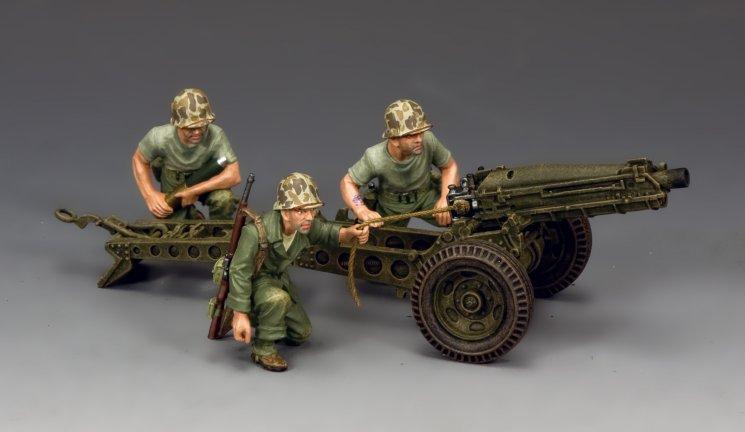USMC 75mm Pack Howitzer & Crew