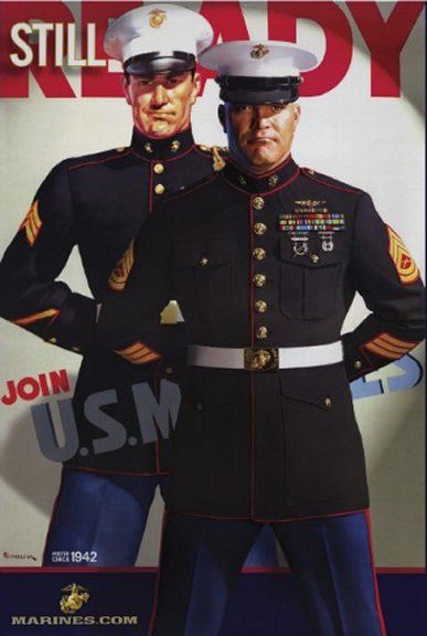 """Still Ready"" Join the US Marines"