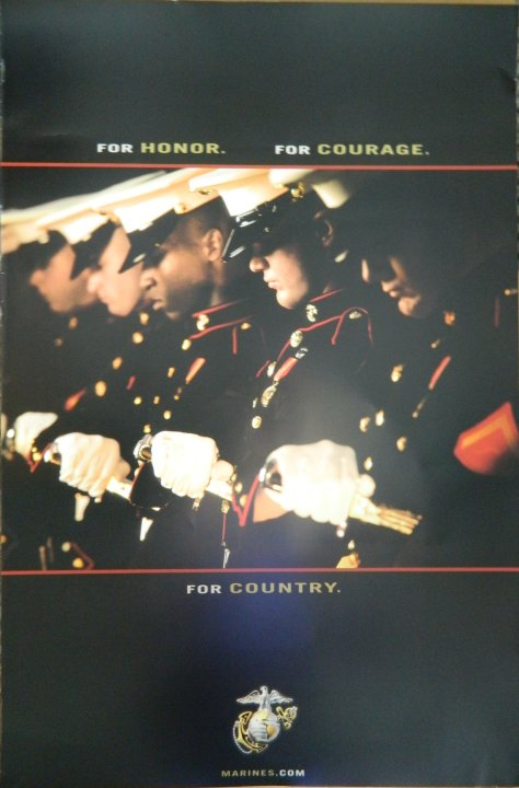 """For Honor - For Courage - For Country"""