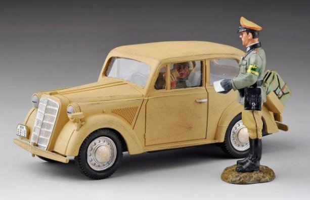 Light Staff Car 1937 Model - Desert