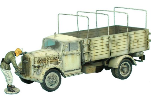 Opel Blitz Truck Winter Version