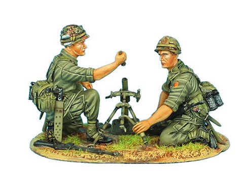 US 25th Infantry Division M2 Mortar Team