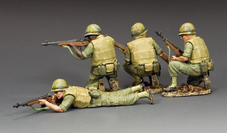 The M14 Marines In Action Set
