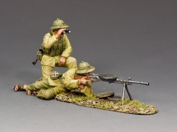 The NVA Machine Gun Team