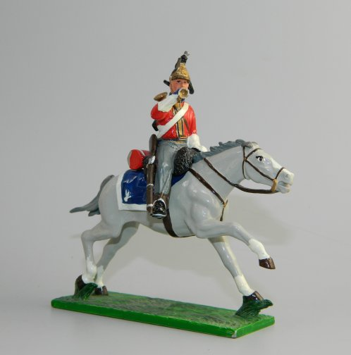 Mounted Trumpeter, British Cavalry 1st Dragoon Guard