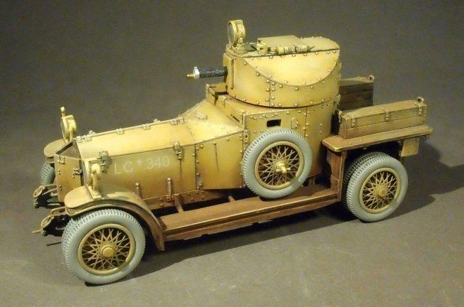 Armored Cars For Sale >> Rolls Royce Armoured Car, The Hedjaz Armoured Car Section
