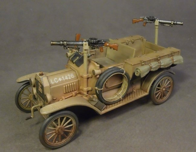"Ford Model T ""IMSHI"" - Australian 1st Light Car Patrol 1917"
