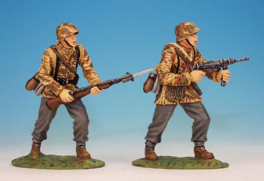 WWII German Infantry - 2 Fighting