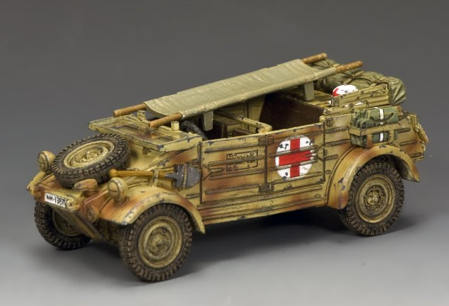 The 'Afrika Korps' Kűbelwagen Ambulance
