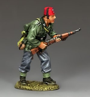 Advancing Rifleman