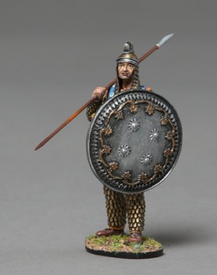 Persian Heavy Infanteer Holding Silver Shield