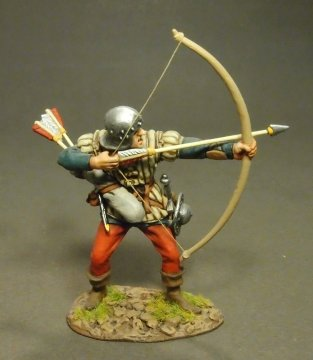 Yorkist Archer, The Battle of Bosworth Field, 1485