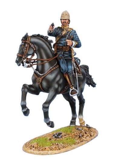 British 17th Lancers Officer