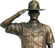 Visit our sister site for beautifully detailed bronzed military statues.