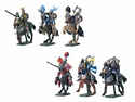 Knights Mounted (6 pc assortment)