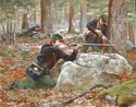 Berdan's Sharpshooters, Summer-Fall, 1863 - Canvas Giclee