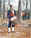 Corcoran's Irish Legion Drummer, 164th New York, 1864 - Canvas Giclee