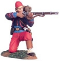 Union Infantry 114th Pennsylvania Zouaves Kneeling Firing #1