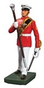 United States Marine Corps Drum Major, Commandant's Own, Red Tunic