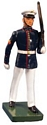 United States Marine Corps Marching, Summer Dress, Left Shoulder