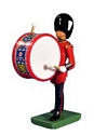 Grenadier Guards Bass Drummer