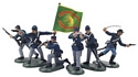 American Civil War Union Infantry Set #2 Irish Brigade - 6 Foot Figures