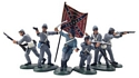 American Civil War Foot Counter Pack #2 Grey