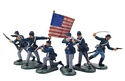 American Civil War Foot Counter Pack #2 Blue