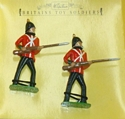 Sherwood Foresters 2 Figures At the Ready