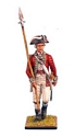 British 5th Foot Officer with Spontoon