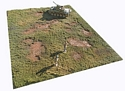 War-Torn Table Top Battlefield Mat #1