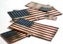 US Flag Set (Pre-cut)