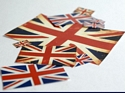British Flag Set (Pre-cut)