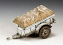 wwii battle of the bulge jeep trailer