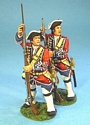 British 4th Regiment of Foot (Barrell's) Line Infantry Loading