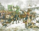 Battle of Trenton, December 26, 1776 - S/N Print