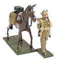 WWI Mule and Handler
