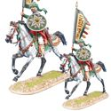Mounted Mamluk Standard Bearer