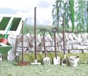 Garden Tools - Painted