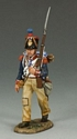 French Line Infantry Marching Rifleman - Left