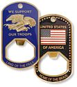 Bottle Opener - Patriotic Theme