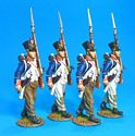 Fusiliers Marching Box Set #1 - French Line Infantry 66th Line, 4th Company