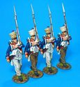 Fusilier Marching Box Set #3 - 66th Line, 4th Company