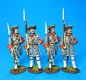 Four Grenadiers Waiting in Reserve Set #1, Regt. de Bearn