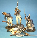 Scott's Brigade, 4 Wounded Figures