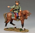 Mounted Cossack Pointing