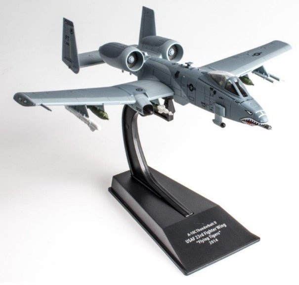 """Republic A-10C Thunderbolt II 23rd Fighter Group """"Flying Tigers,"""" 23rd Wing, U.S. Air Force, 2014 (1:100)"""
