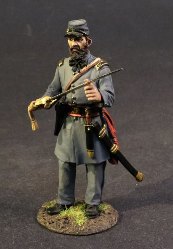 Infantry Officer, 4th Virginia Regiment