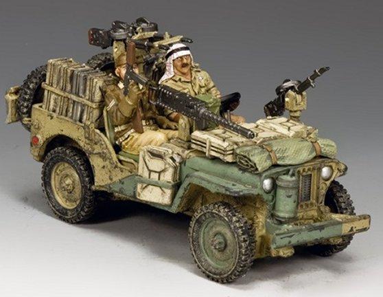 british desert jeep rommel desert fox