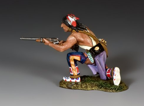 TRW131 Kneeling Plains Indian w//Carbine by King and Country